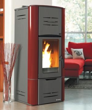 Calefacción a pelet en vivienda unifamiliar