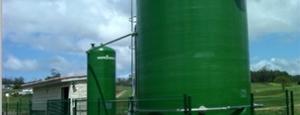 Instalación geotérmica para digestor anaerobio