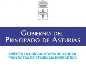 Convocadas las ayudas a proyectos de eficiencia energética del Gobierno de Asturias 2016